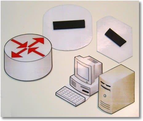 Visio-Shapes als Magnete