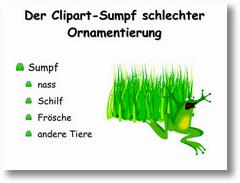 Der Clipart-Sumpf schlechter Ornamentierung (2)