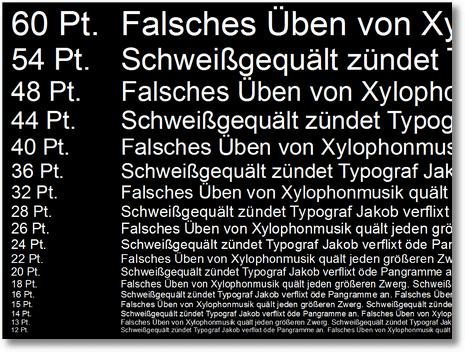 DieComputermaler - PowerPoint-Sehtest
