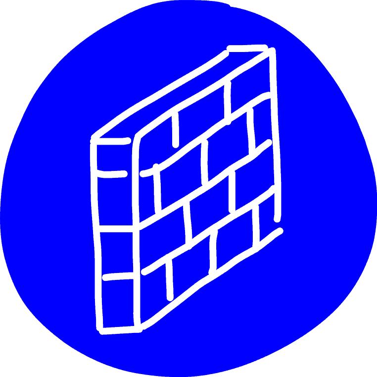 Gebotszeichen - Firewall
