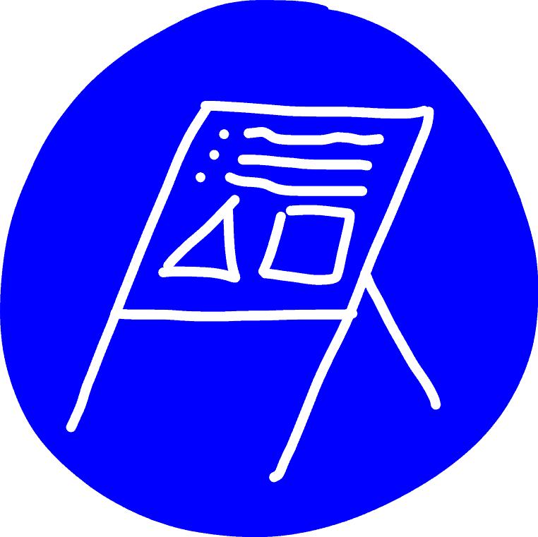 Gebotszeichen - Flipchart