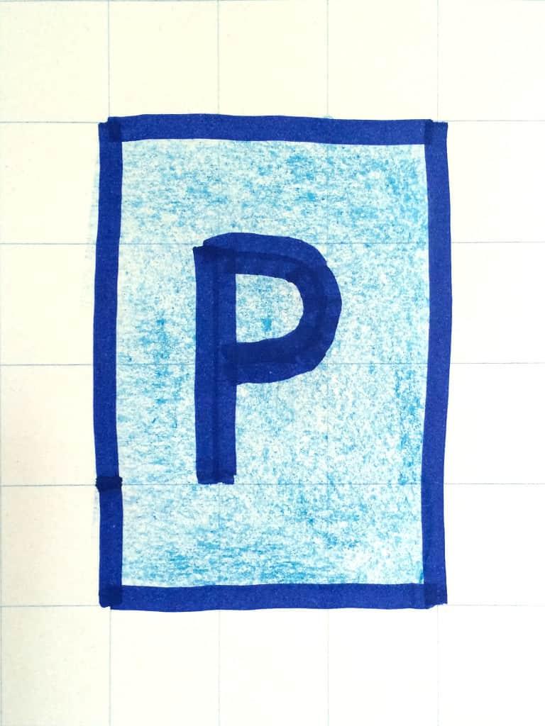 (Ideen‑)Parkplatz (am Flipchart einfach koloriert)