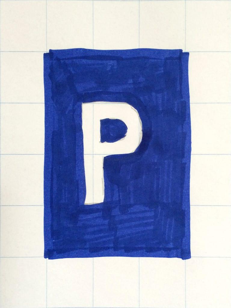 (Ideen‑)Parkplatz (am Flipchart vorgezeichnet)