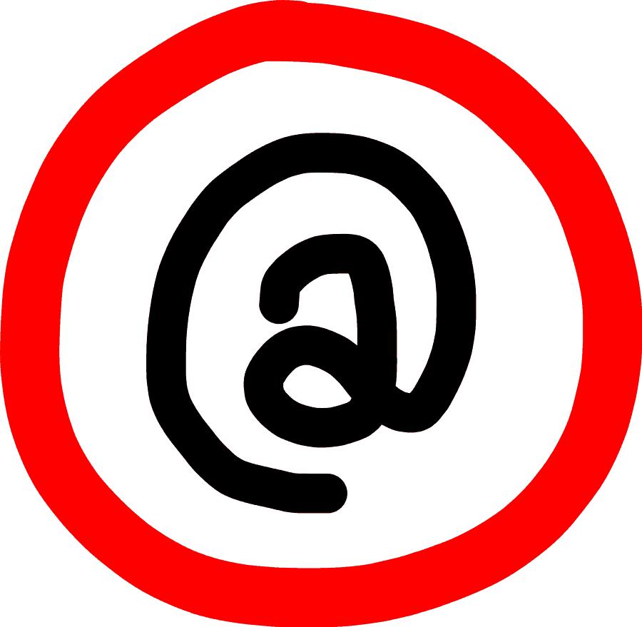 Verbotszeichen - E-Mail (2)