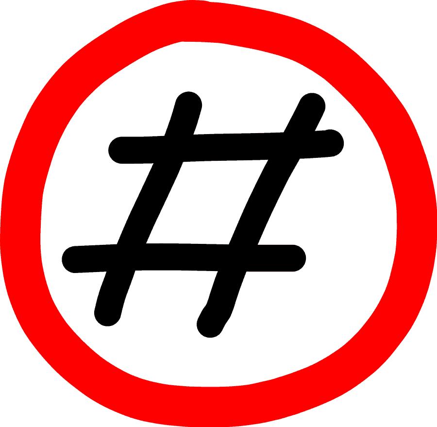 Verbotszeichen - Twitter
