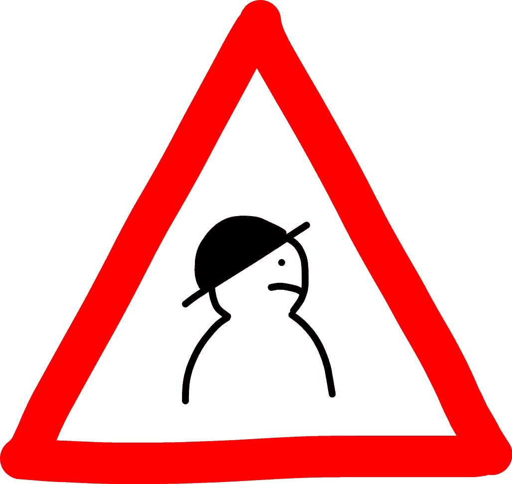 Warnung - Hacker