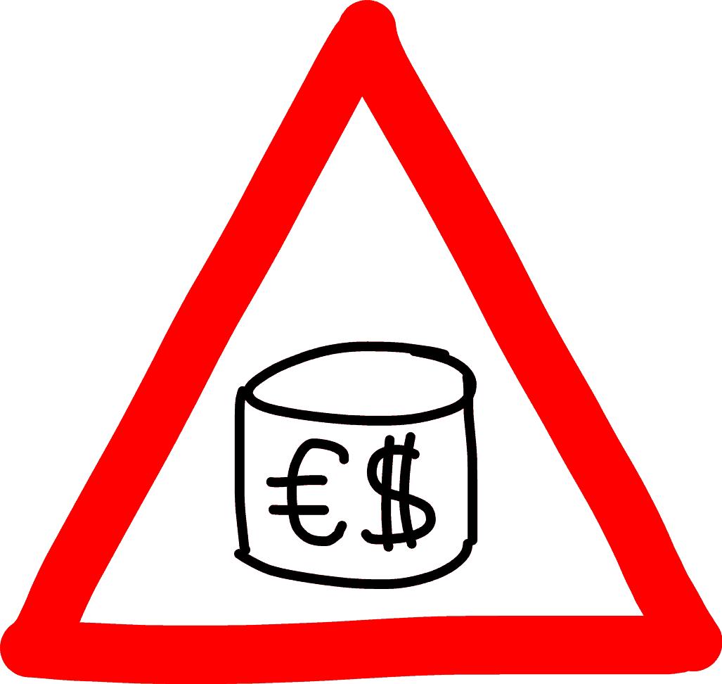 Warnung - Kosten - Storage