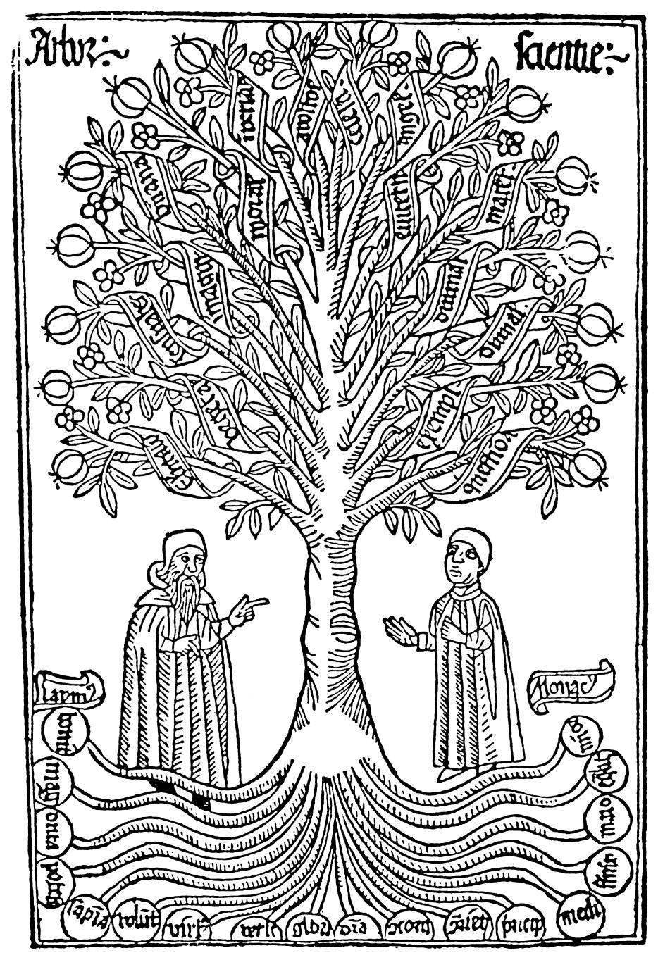 arbor scientiae - Baum des Wissens