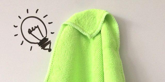 Mikrofasertücher für die Whiteboard-Reinigung