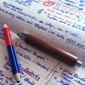 Mein unleserliches Notizbuch