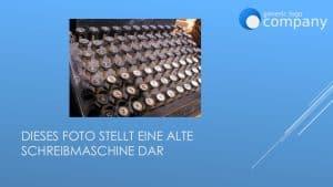 Foto in PowerPoint-Vorlage mit Firmen-Logo eingebettet - Variante 1