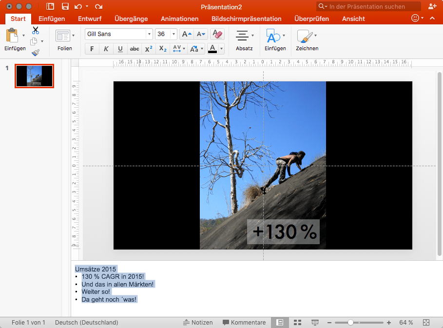 Sprechernotizen in PowerPoint nutzen