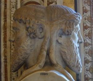 Der doppelgesichtige Janus