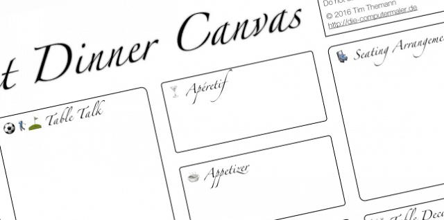 """""""Canvas"""" – formularhaftes Tütensuppen-Denken?"""