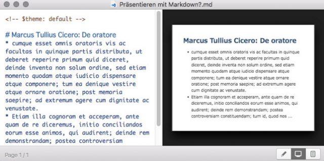 Präsentieren mit Markdown – Marp