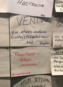 """BarCamp Hamburg 2016– Ventuz– PowerPoint-Folien """"ausmisten"""""""