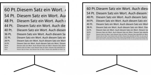 Schriftgröße in PowerPoint abhängig vom Seitenverhältnis