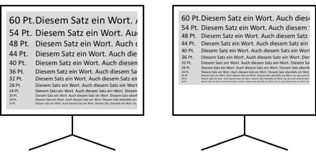 Moderne Schriftgrade Für Ihre Präsentation Die Computermaler
