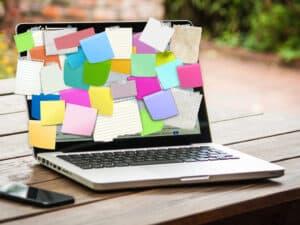 WIP-Limits– voller Schreibtisch