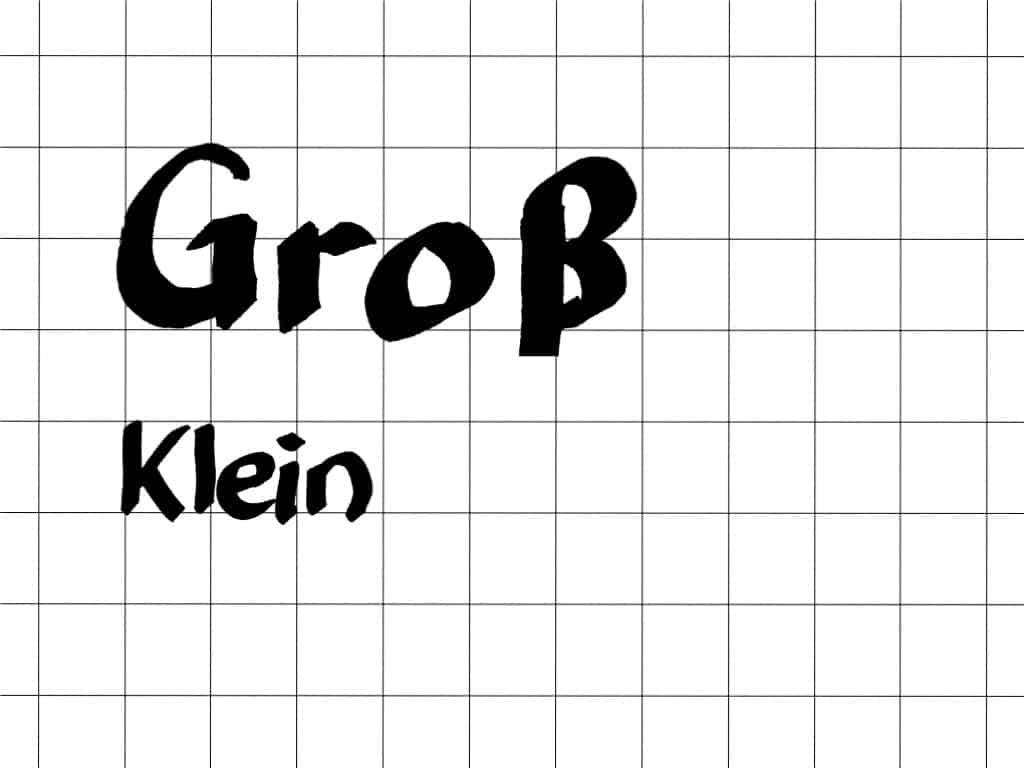"""""""Schöner"""" schreiben am Flipchart (11)– Groß- und Kleinbuchstaben nutzen– Schriftgröße"""