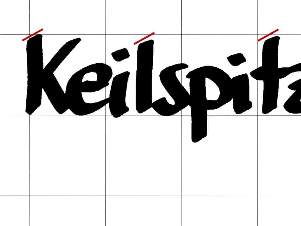 """""""Schöner"""" schreiben am Flipchart (8)– Keilspitze vs. Rundspitze– Anstrich"""
