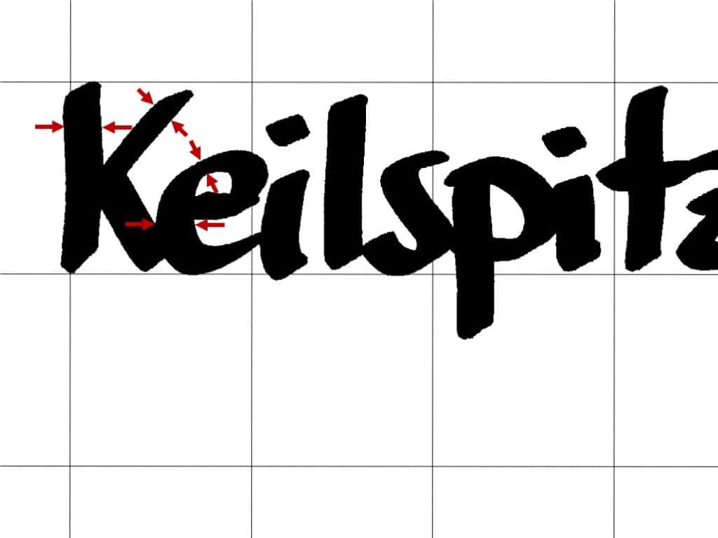 """""""Schöner"""" schreiben am Flipchart (9)– Keilspitze vs. Rundspitze– Strichstärke"""