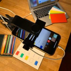 Visualisieren in der Videokonferenz– Mobiltelefon als zweite Kamera