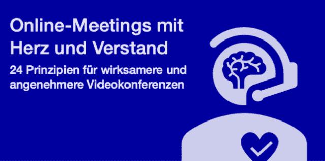 Online-Meetings mit Herz und Verstand – das Buch zum #Homeoffice