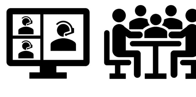 Online oder offline – Meetings – Besprechungen